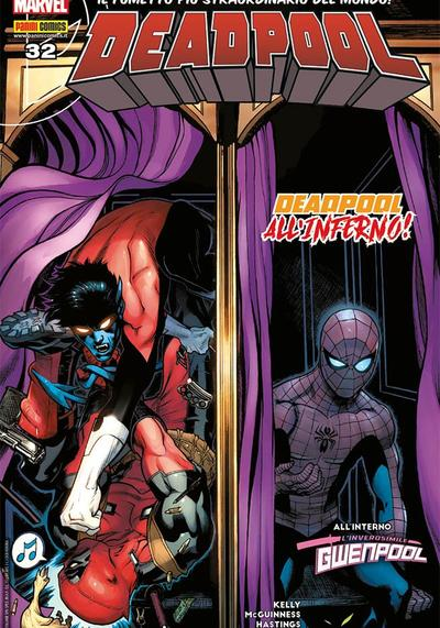 Cover image of Deadpool #32 (ITA), color