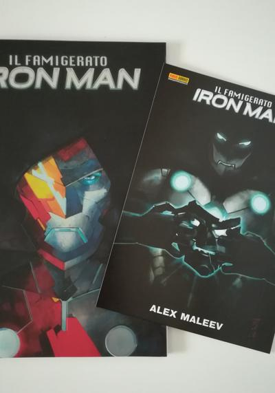 Cover image of Il Famigerato Iron Man n.1 Variant Cover, color