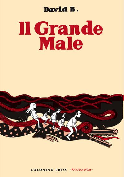 Cover image of Il Grande Male, black&white