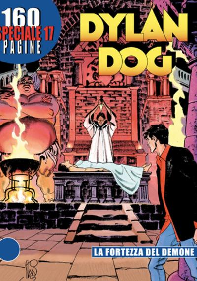 Cover image of Speciale Dylan Dog 17, black&white