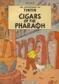 Cover image of Cigars of the pharaoh, color