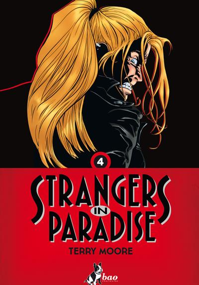 Cover image of Strangers in Paradise vol.4 (ITA), black&white