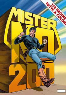 Cover image of Mister No n.200, color