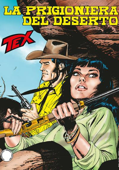 Cover image of Tex #683, black&white