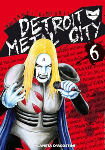 Cover image of Detroit Metal City #6 (ITA), black&white