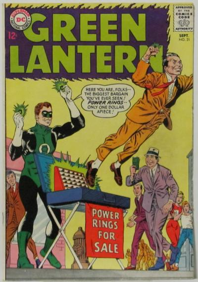 Cover image of Green Lantern #31, color