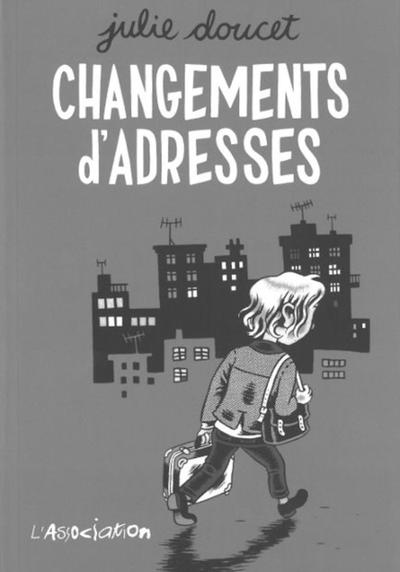 Cover image of Changements d'adresses, black&white