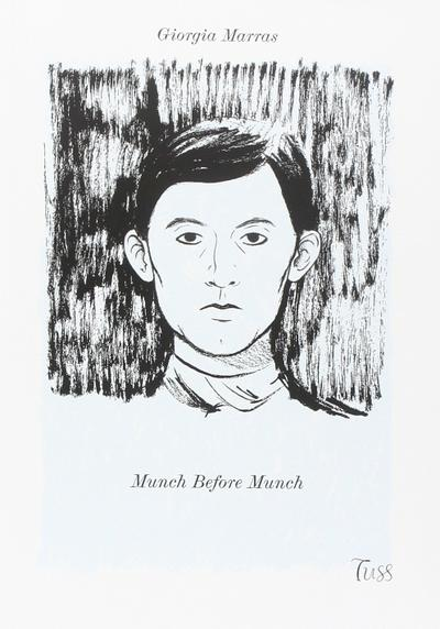 Cover image of Munch before Munch, black&white