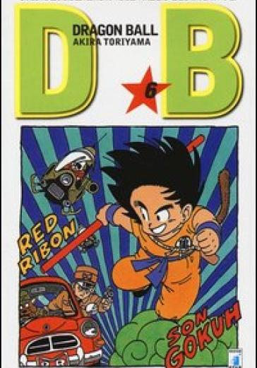 Cover image of Dragon Ball. Evergreen edition: 6, black&white