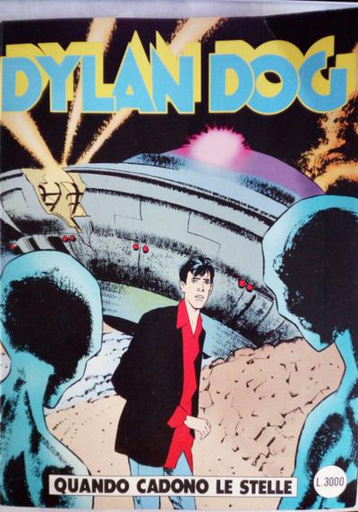 Cover image of Dylan Dog #131, black&white