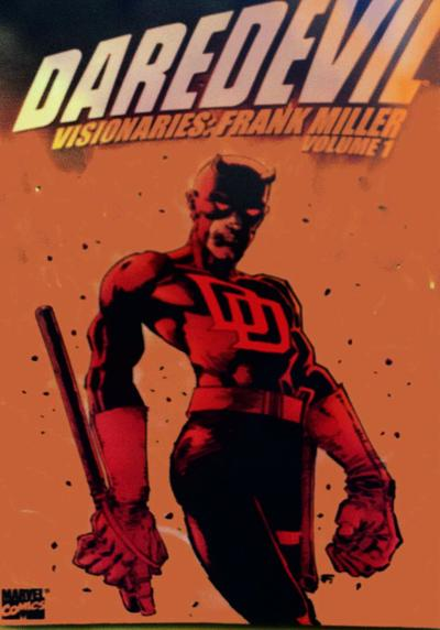 Cover image of Daredevil visionaries., color