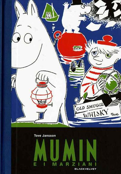 Cover image of Mumin e i marziani, black&white