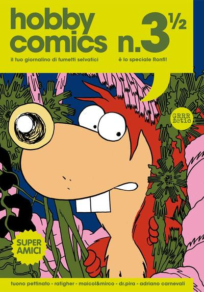 Cover image of Hobby comics #3 1/2, color