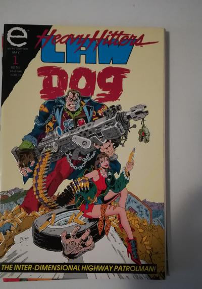 Cover image of Heavy Hitters Law Dog n.1 ( Epic comics 1993 ), color