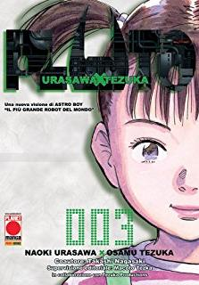 Cover image of Pluto #3 (ITA), black&white