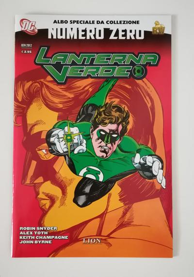 Cover image of Lanterna Verde - Numero Zero  - RW Lion 2012, color