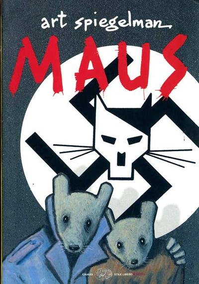Cover image of Maus, black&white