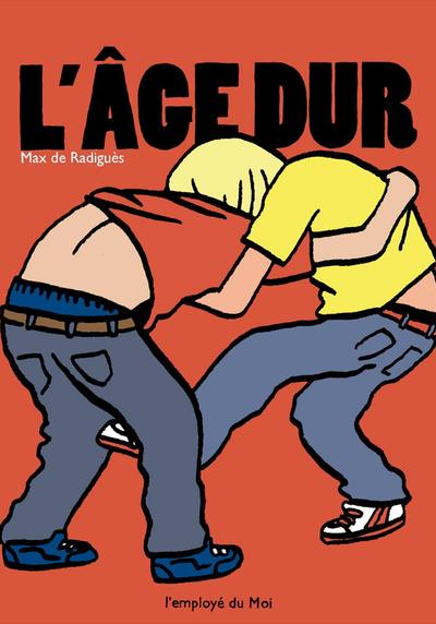 Cover image of L' Âge Dur, black&white