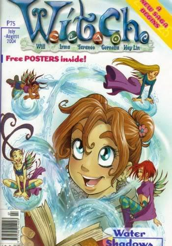 Cover image of W.I.T.C.H. #25, color
