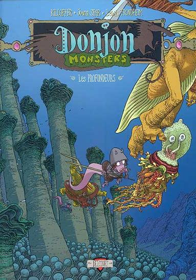 Cover image of Donjon Monster 9 - Les Profondeurs, color