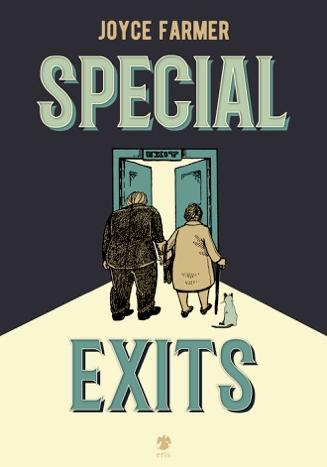 Cover image of Special exits (ITA), black&white