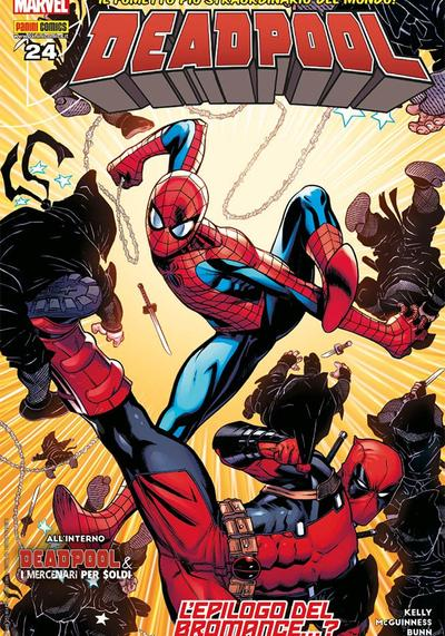 Cover image of Deadpool #24 (ITA), color