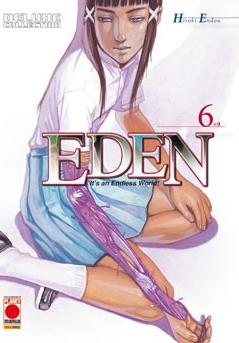 Cover image of Eden - Deluxe Collection #6 (ITA), black&white