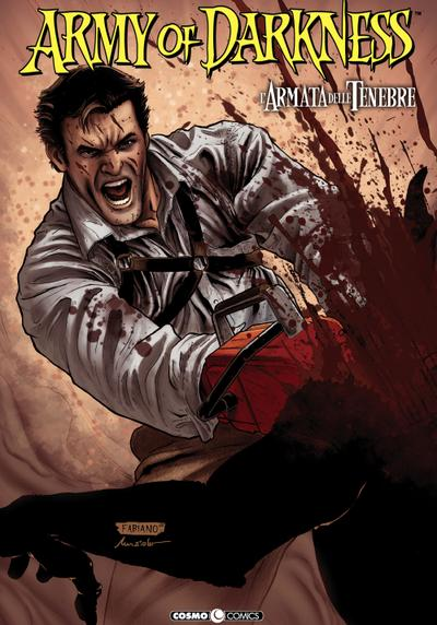 Cover image of Army of darkness #05 (ITA), color