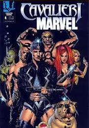 Cover image of Cavalieri Marvel # 4, color