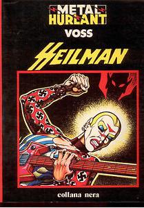 Cover image of Metal Hurlant - Heilman, black&white