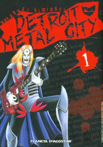 Cover image of Detroit Metal City #1 (ITA), black&white
