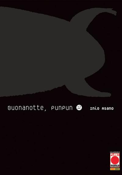 Cover image of Buonanotte, Punpun #12, black&white