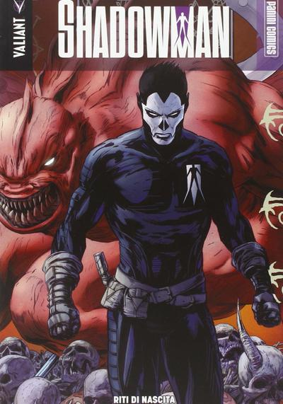 Cover image of Shadowman #1, color
