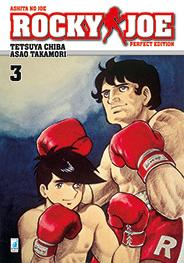 Cover image of Rocky Joe - Perfect Edition #3 (ITA), black&white