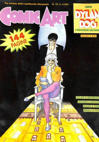 Cover image of Comic Art n°79, color