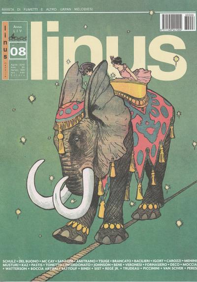 Cover image of Linus #639, color