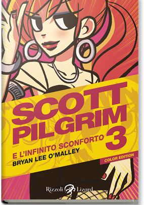 Cover image of Scott Pilgrim color edition #03 (ITA), color