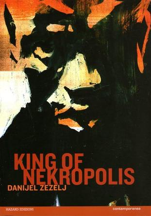 Cover image of King of Nekropolis, black&white