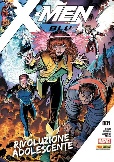 Cover image of X-Men Blu #1, color