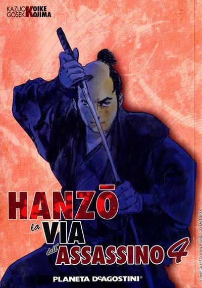 Cover image of Hanzo - La Via dell'Assassino #4, black&white