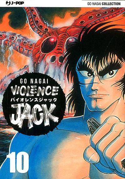Cover image of Violence Jack #10 (ITA), black&white