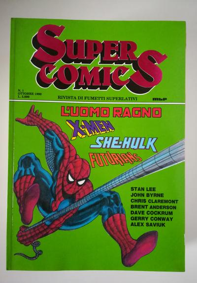 Cover image of Super Comics (MBP 1990) #1, color