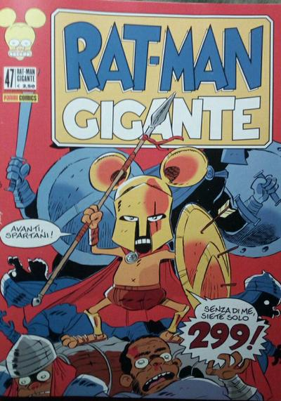 Cover image of Rat-Man Gigante #47, black&white