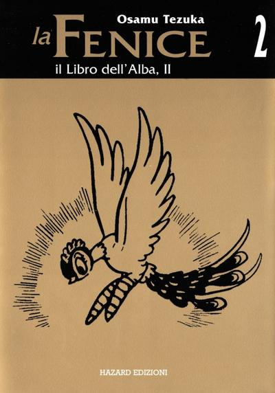 Cover image of La Fenice #2 - Il Libro dell'Alba, II, black&white