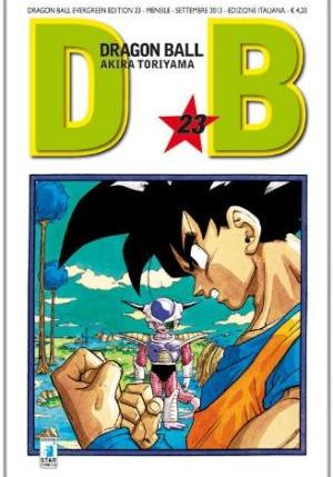 Cover image of Dragon Ball. Evergreen edition: 23, black&white