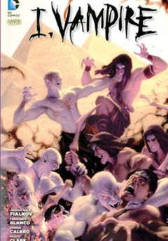 Cover image of I, vampire #4 (ITA), color