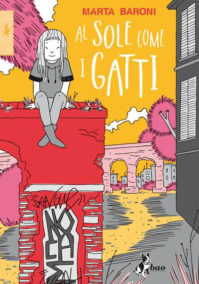 Cover image of Al sole come i gatti, color