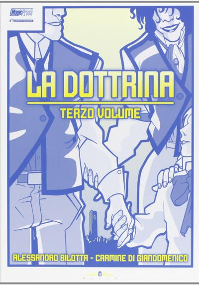 Cover image of La dottrina. Terzo volume, color