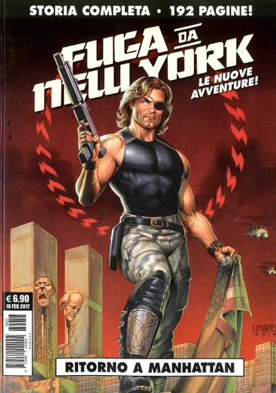 Cover image of Fuga da New York #2 - Ritorno a Manhattan, black&white