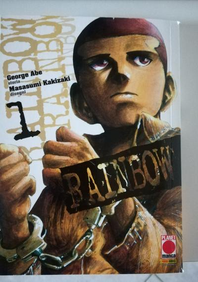 Cover image of Rainbow n.1 – Manga Mix 89 ( Planet Manga Panini Comics 2013 ), black&white